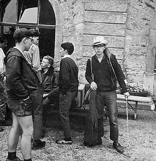 Klassenfahrt nach Koblenz 1963.