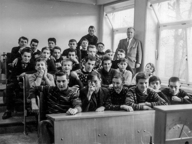 Die O III b von 1962 (mit Herrn Franke)