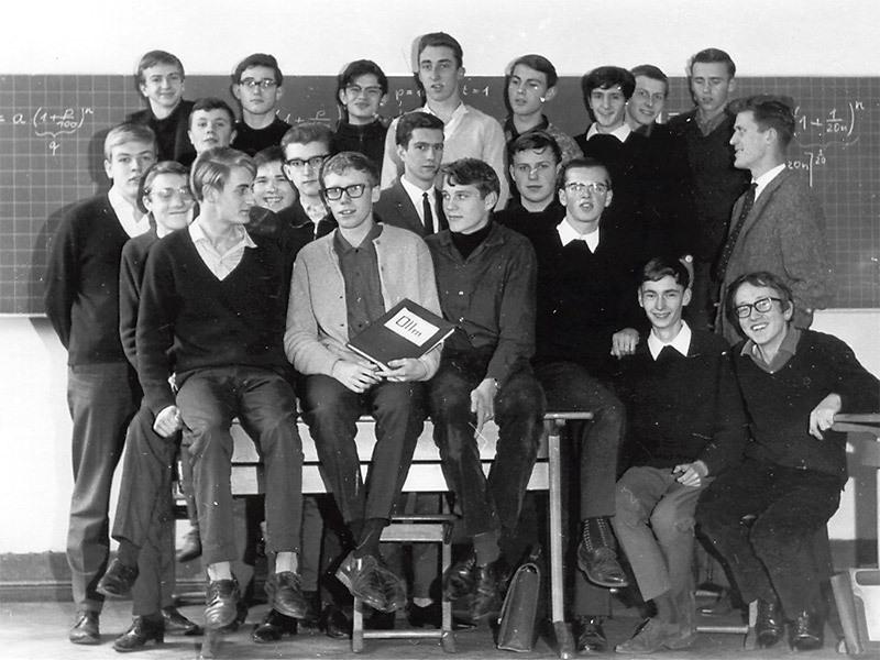 Die O II m von 1964 (mit Herrn Verbeek)